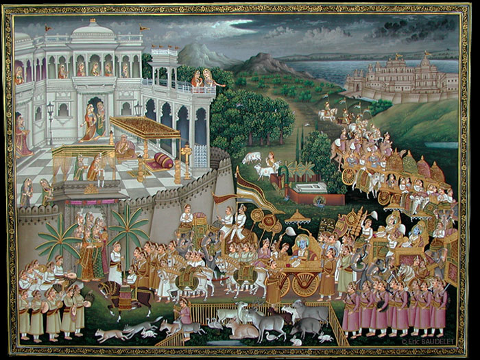 Miniatures érotiques indiennes