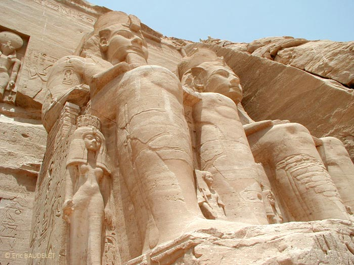 Colosse du Grand Temple d'Abu Simbel